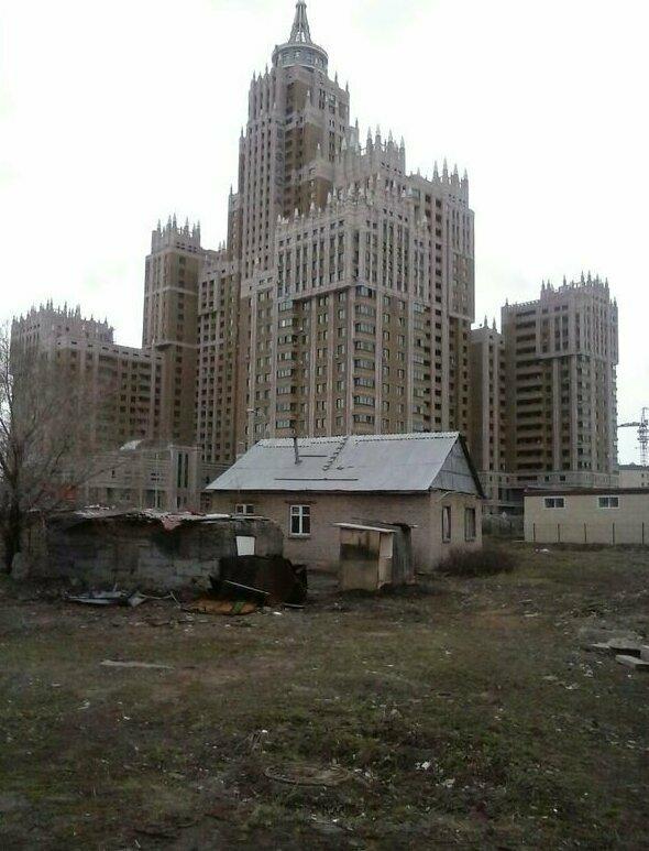 Астана (aka Нұр-Сұлтан) несколько лет назад