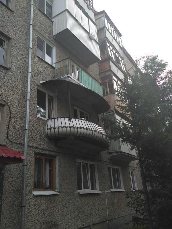 Когда хочешь балкон поширше, как у барина