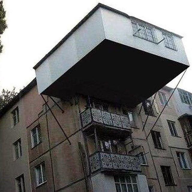 Вот так надо балкон закрывать!