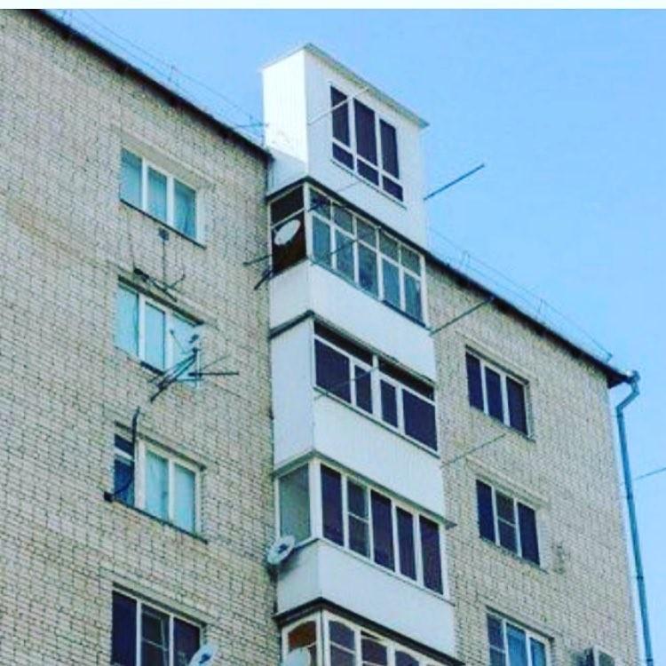 25 самых эффектных балконов страны