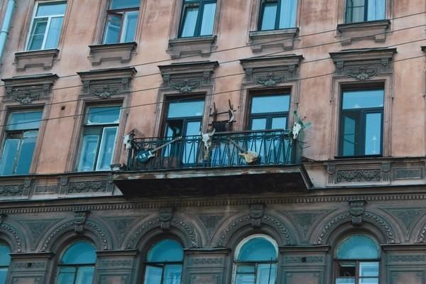 Питерские балконы прекрасны