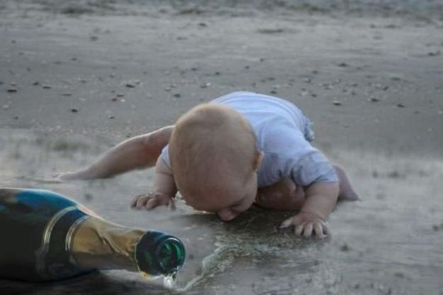 Забавные детишки, похожие на пьяных взрослых