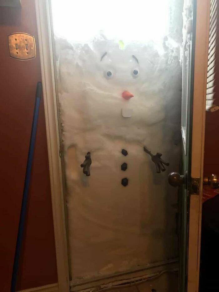"""Как сделать снеговика не выходя из дома"""""""