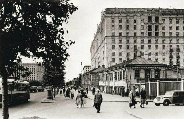 Проспект Мира, Москва, 50-е гг.