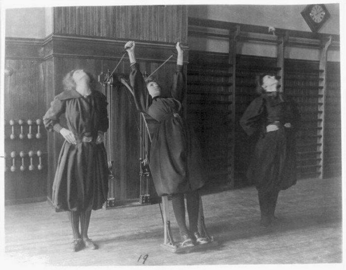Фитнес в  США, 1899 год