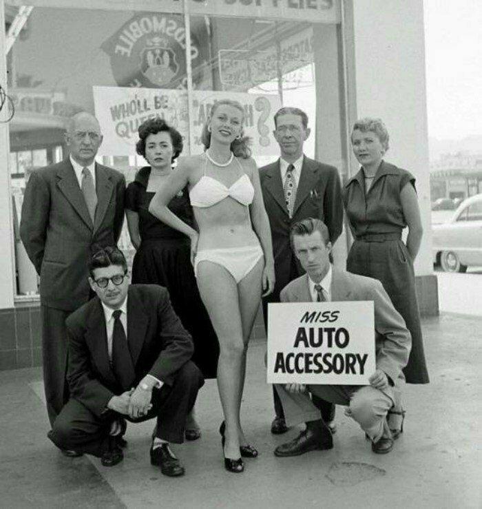 Мисс Автозапчасть, США, 60-е