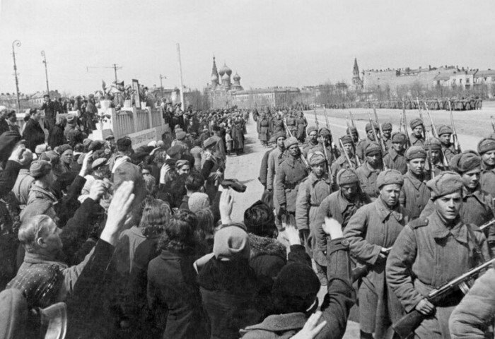 Москва, 1943 год