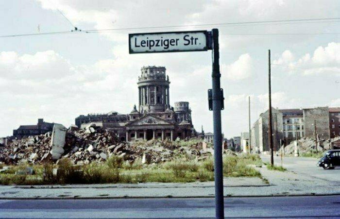 Берлин через 11 лет после войны. Германия, 1956 год
