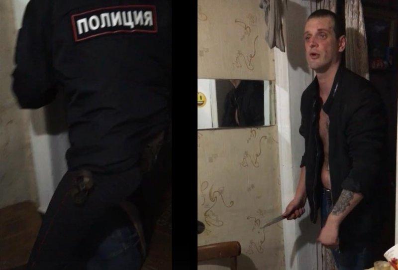 В Вологде: пьяный уголовник напросился на пулю