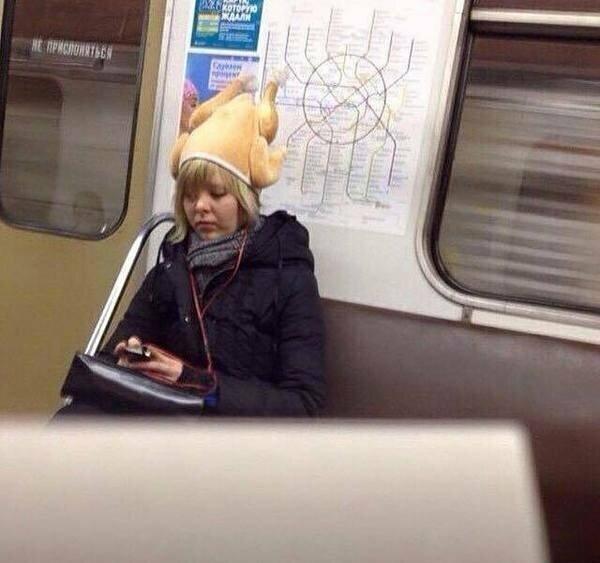 Удачная шапка