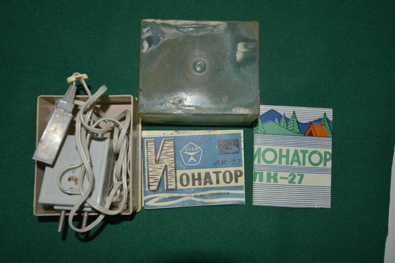 Ионатор для обработки воды серебром