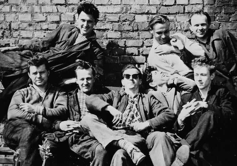 Ли Харви Освальд с друзьями в Минске, 1960 год