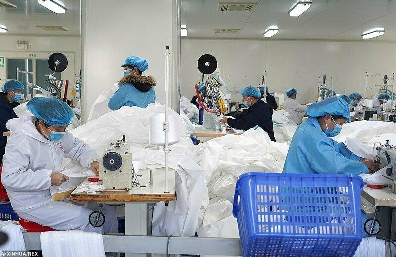 Всего 8 дней понадобилось китайцам для запуска построенной с нуля спецбольницы