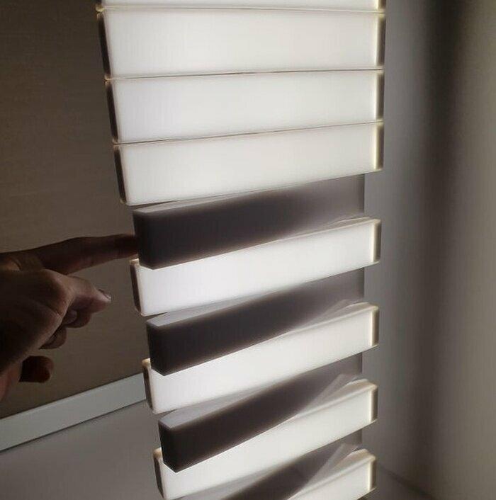 Зачётная идея для светильника. Поворот каждой клавиши позволяет добавить освещения
