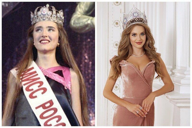 Мисс Россия 1993 Анна Байчик и Мисс Россия 2019 Алина Санько