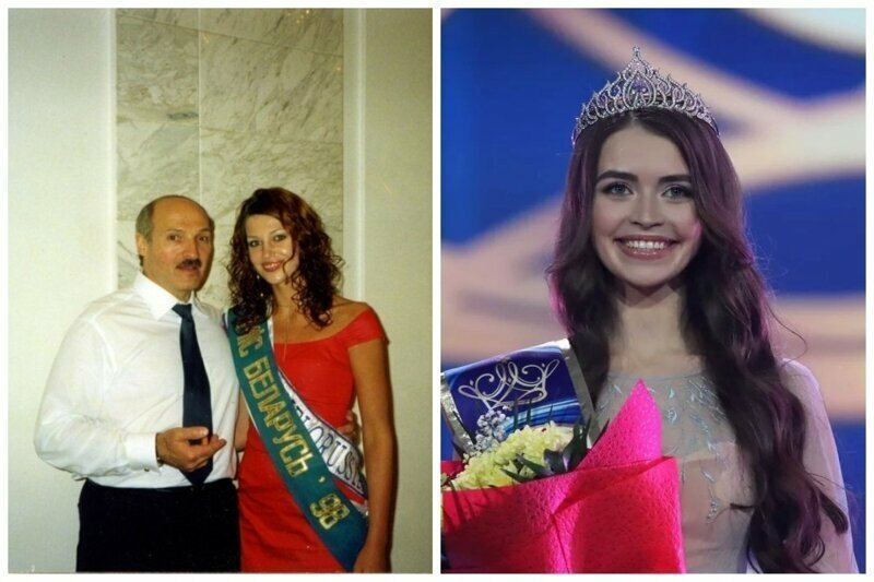 Мисс Беларусь-1998 Светлана Крук (Кузнецова) и Мисс Беларусь 2018  Мария Василевич