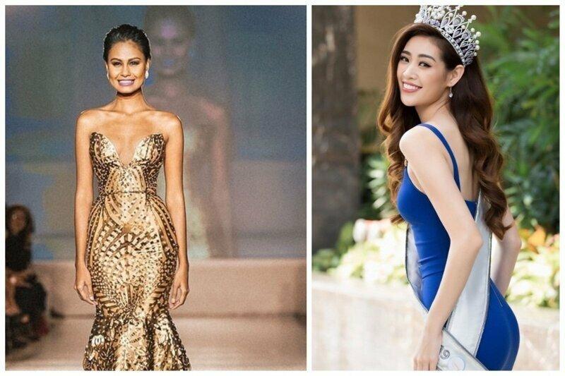 Мисс Вьетнам 2019 Трён Ханх Ван Нгуен и Венера Радж Мисс Вьетнам 2010