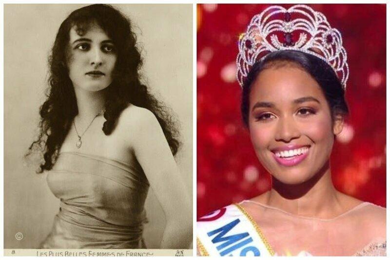Франция, Анна Сурье, 1920 год и Мисс Франция 2020