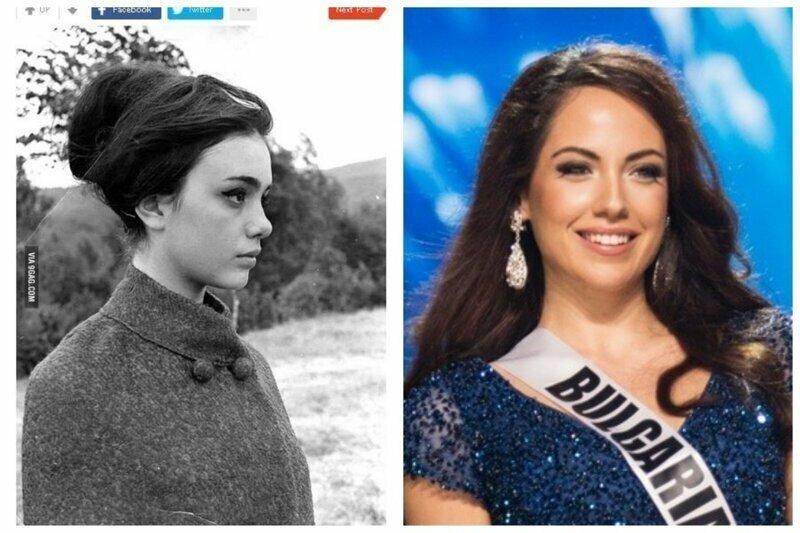 Бранимира Антонова - Мисс Болгария 1967 и Мисс Болгария 2019  - Варя Давыдова