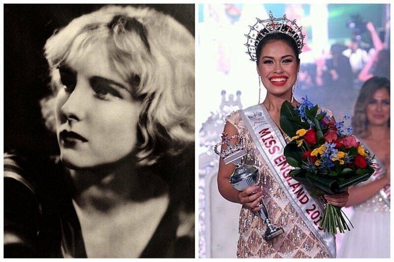 Диана Элис, 1928 мисс Англия и Мисс Англия 2019 Бхаша Мукхерджи