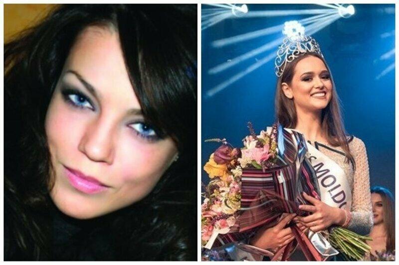 Мисс Молдова 2000 Мариана Бачу Морару (погибла в автокатастрофе) и Мисс Молдова 2019 Елизавета Кузнецова