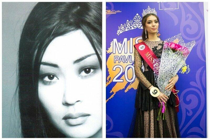 Мисс Казахстан 1997  Джамиля Бисембаева и Мисс Казахстан 2019 Мадина Батык