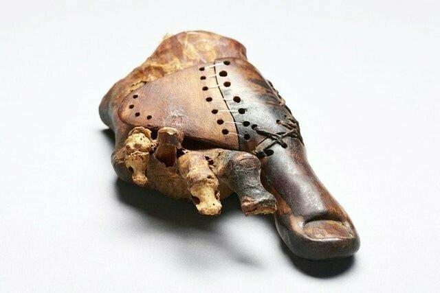 2. Старейший протез в мире. Деревянный палец, которому более 3 тыс лет