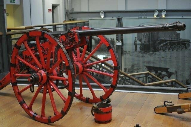 6. Типичное орудие 17 века во время гражданской войны в Англии