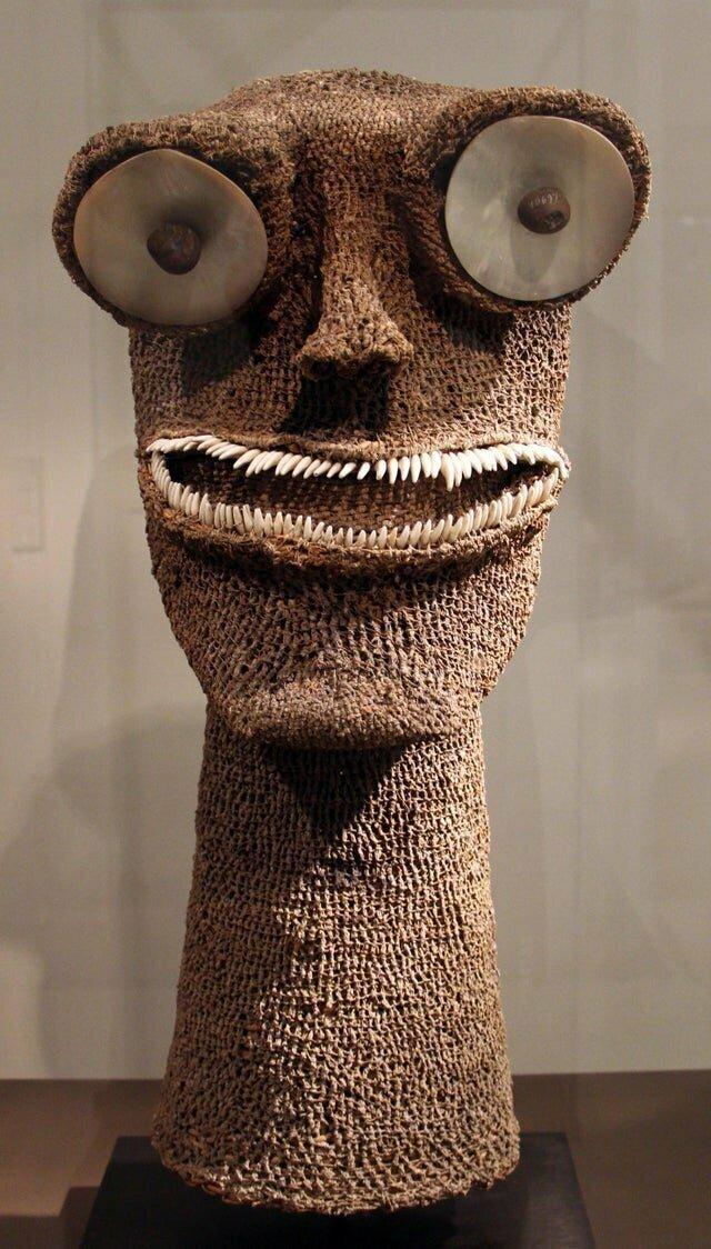"""3. Скульптура гавайского бога войны """"Kūka"""", ему поклонялись в 18 веке"""