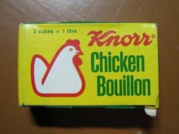 4. Куриные бульонные кубики