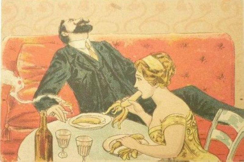 Любительница бананов. XIX век
