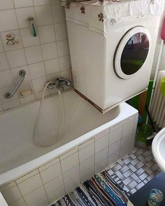 Когда очень мало места в квартире