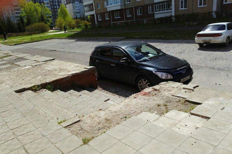 Люди, которые не умеют парковаться