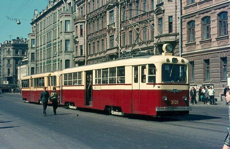 Василеостровский район Ленинграда в 1970-е