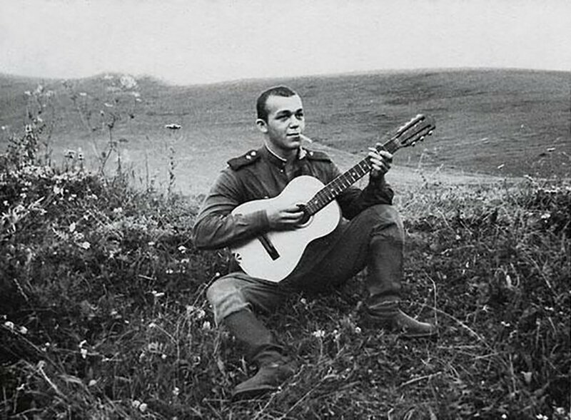 Рядовой Иосиф Кобзон. СССР, 1958 г.