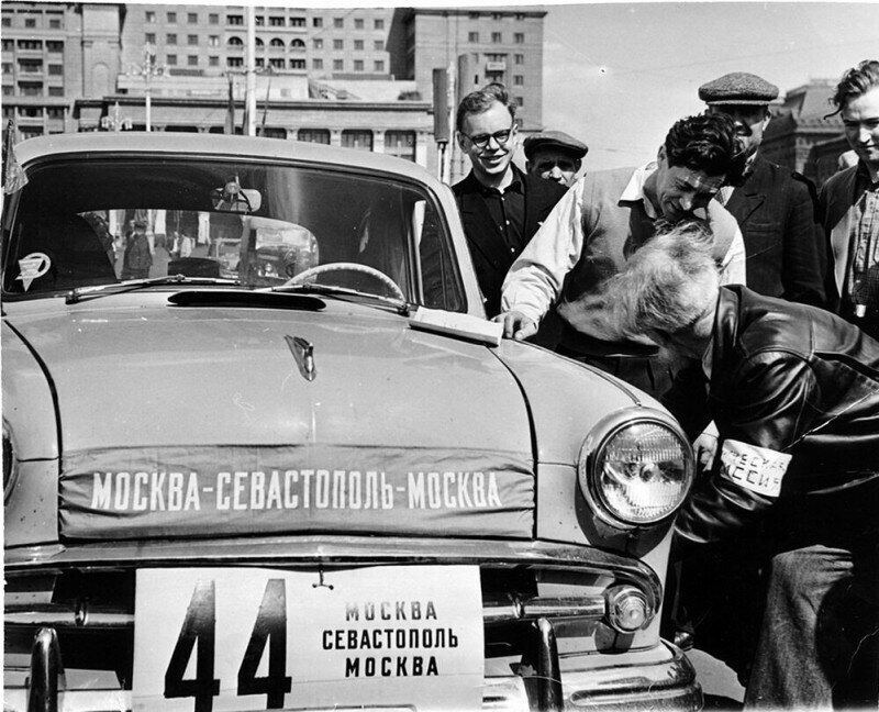 «Москвич-407»: автопробег Москва – Севастополь – Москва, 1959 год