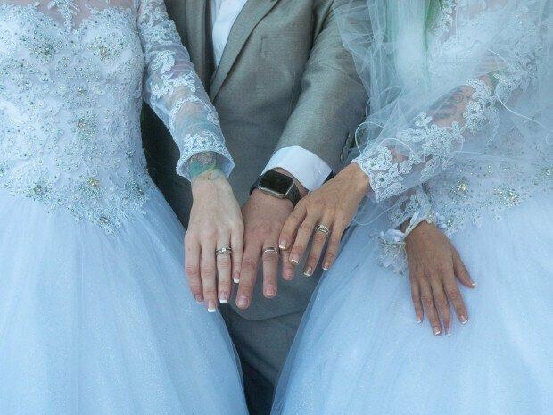 Их нравы: свадьба втроем