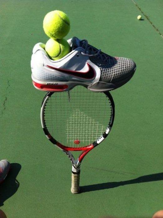 Теннисисты шутят