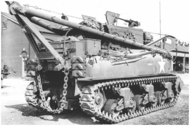 M32 является хорошим примером транспортного средства Второй мировой войны, предназначенного для восстановления и буксировки разбитых танков