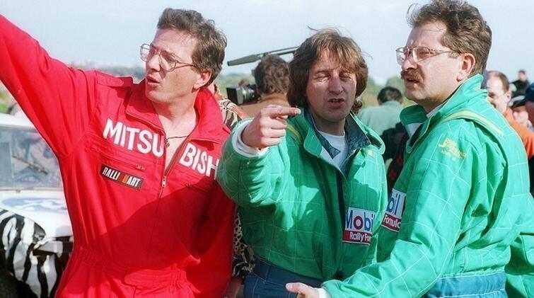 Алексей Лысенков, Леонид Ярмольник, Владислав Листьев, 1994 год