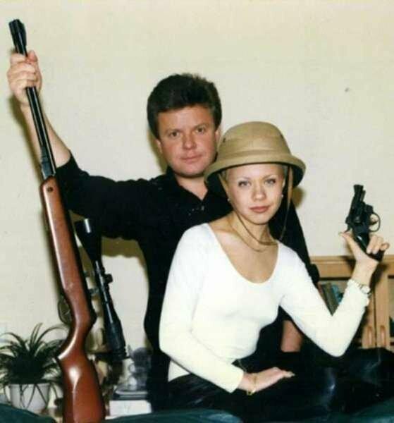 Сергей Супонев и его сестра Елена Перова