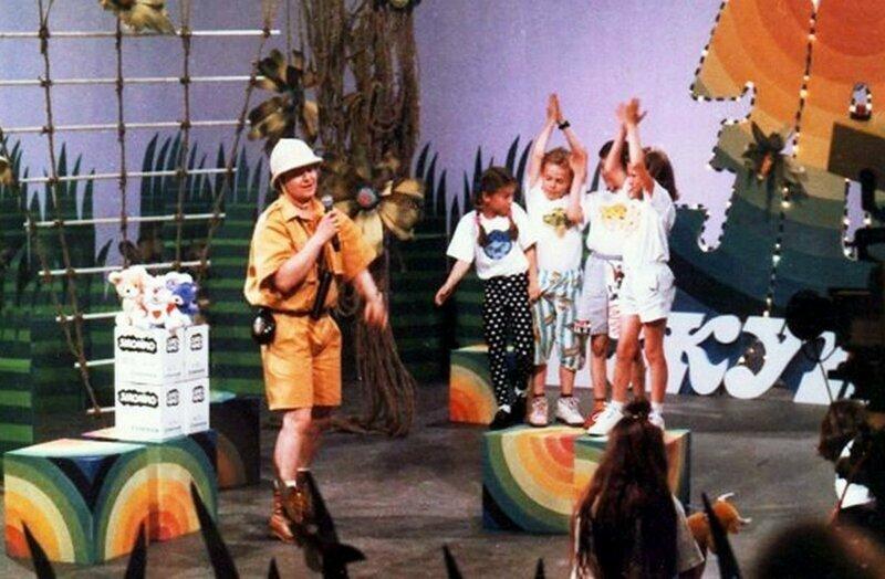 Сергей Супонев на съёмках передачи «Зов джунглей»(1996 год)