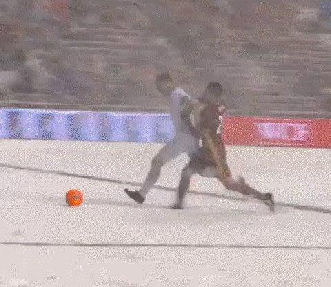 Однажды на футболе
