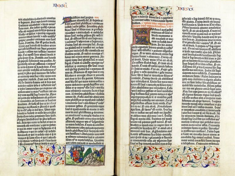 Библия Гуттенберга