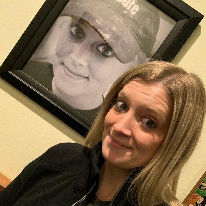 Нет, это не ее портрет