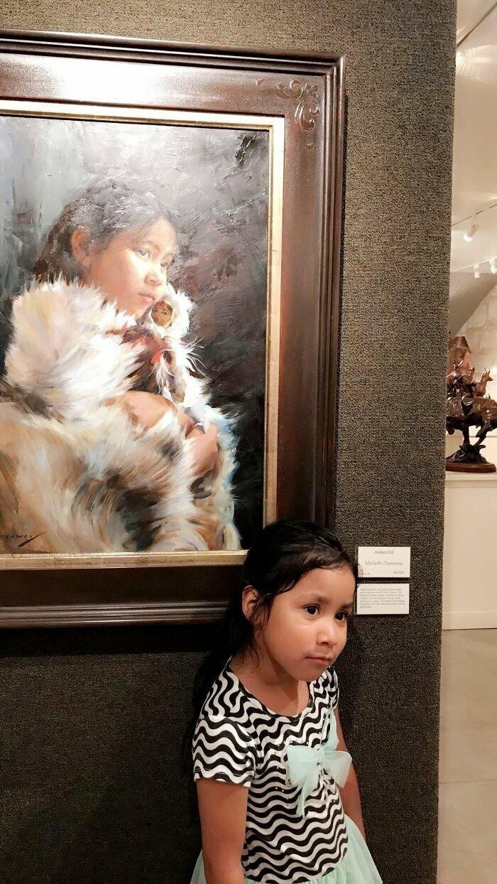 Девочка с картины