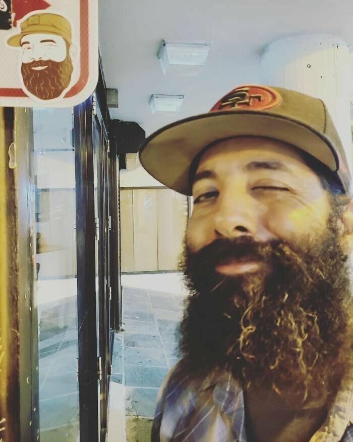 Бородач бородача видит издалека