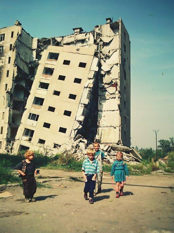 Дети гуляют по Чечне в период <span class=