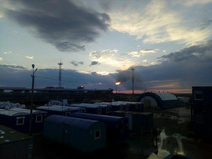 Глубинка России и суровые бытовые условия вахтовиков