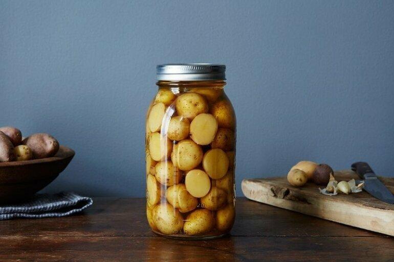 Маринованный картофель